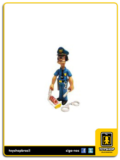 The Simpsons Officer Lou Playmates