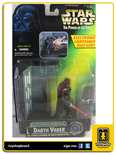 Star Wars The Power of the Force: Darth Vader Electronic Power F/X Kenner