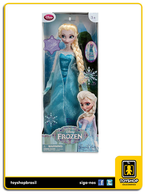 Frozen:  Elsa Singing Doll - Disney Store