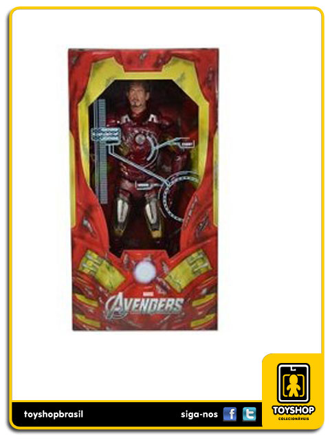The Avengers: Iron Man Mark VII  Battle Damaged - Neca