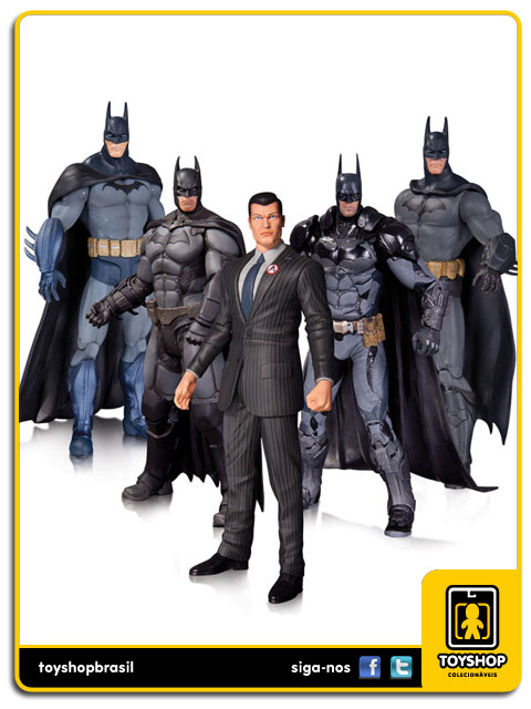 Batman Arkham: Box Set 5 Figuras - DC Collectibles