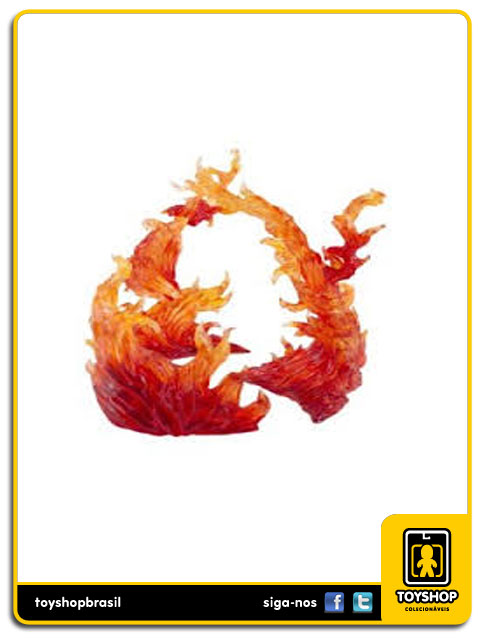 Tamashii Effect Burning Flame: Red Ver - Bandai