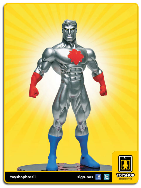 Superman Batman Public Enemies Captain Atom  Dc Direct