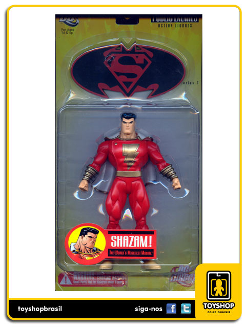 Superman Batman Public Enemies Shazam  Dc Direct