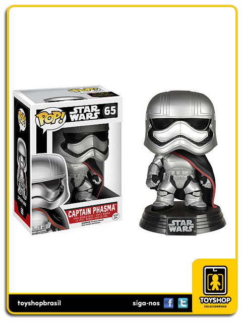 Star Wars The Force Awakens: Captain Phasma  Pop - Funko