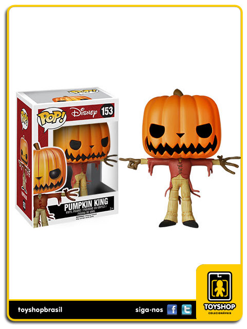Nightmare Before Christmas: Pumpkin King Pop - Funko