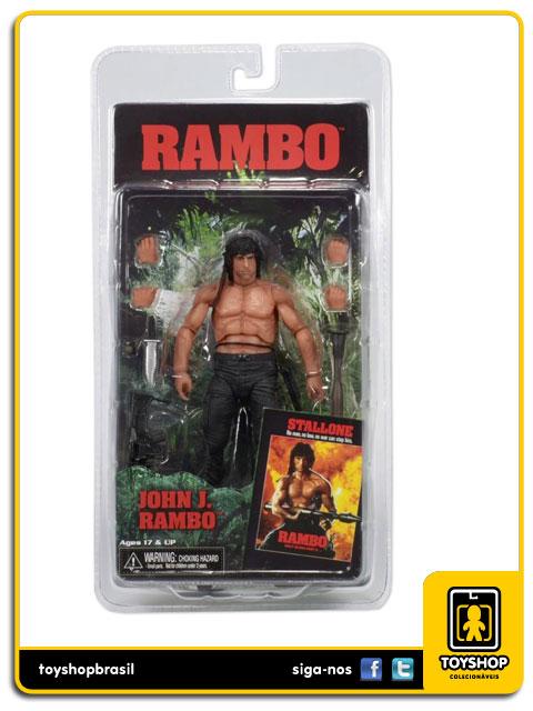 John J.Rambo: Rambo First Blood part II - Neca