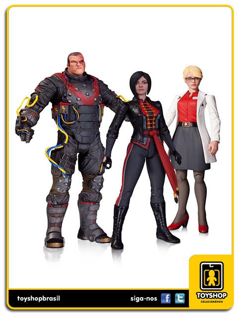 Arkham Origins: Dr. Harleen Quinzel, Electrocutioner e Lady Shiva