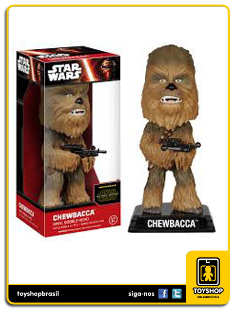 Star Wars The Force Awakens: Chewbacca Bobble Head - Funko
