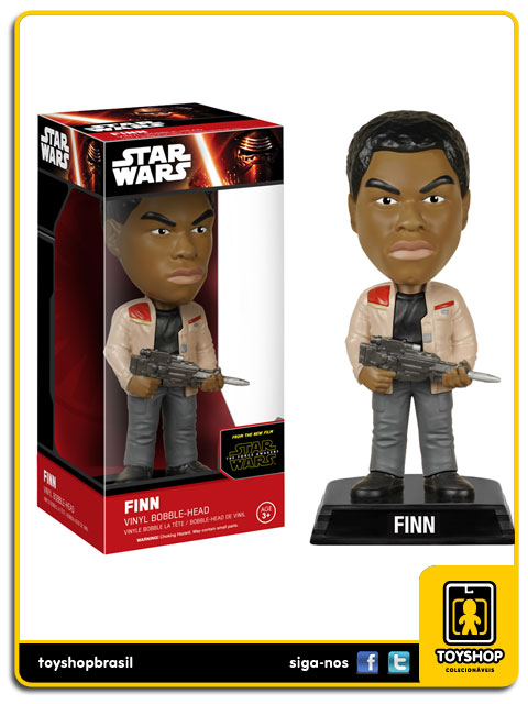 Star Wars The Force Awakens: Finn Bobble Head - Funko