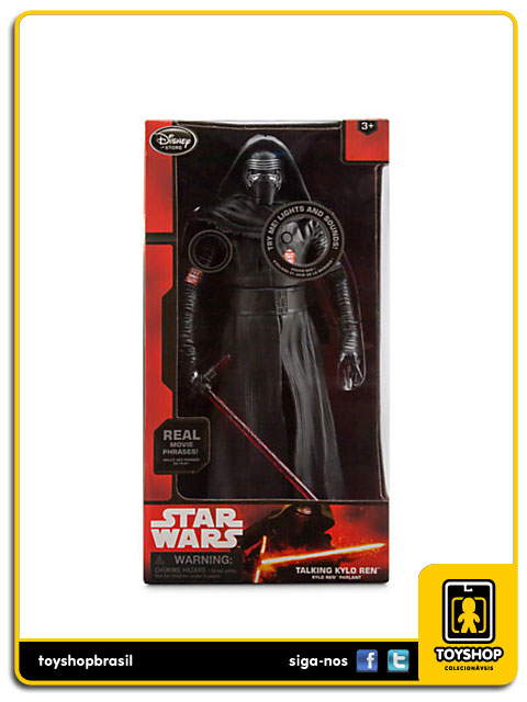 Star Wars The Force Awakens:  Talking Kylo Ren - Disney Store