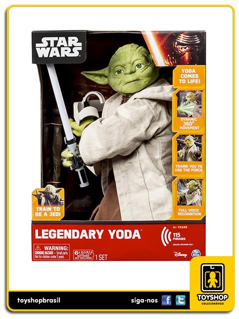 Star Wars: Legendary Jedi Master Yoda - Spin Master