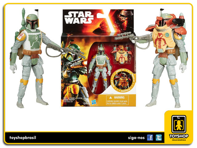 Star Wars The Force Awakens: Boba Fett Armor Up - Hasbro