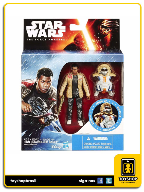 Star Wars The Force Awakens: Finn Armor Up - Hasbro