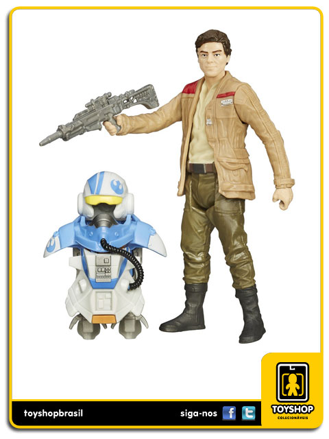 Star Wars The Force Awakens: Poe Dameron  Armor Up - Hasbro