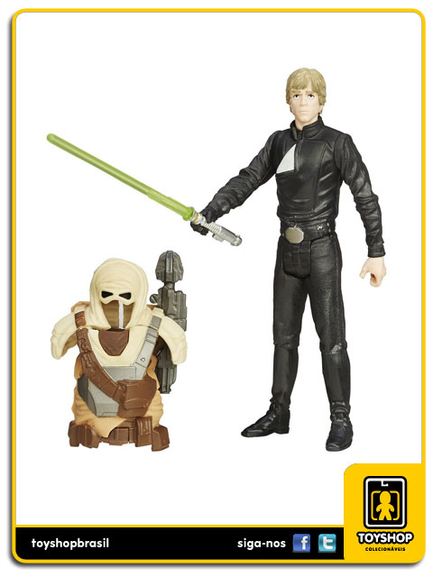 Star Wars The Force Awakens: Luke Skywalker Armor Up - Hasbro