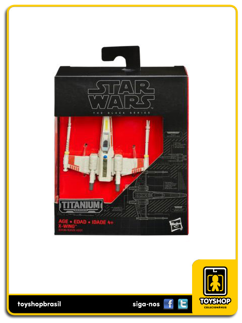 Star Wars The Black Series Titanium: X-Wing - Hasbro