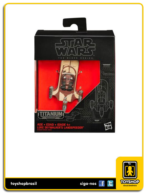 Star Wars The Black Series Titanium: Luke Skywalker´s Landspeeder - Hasbro