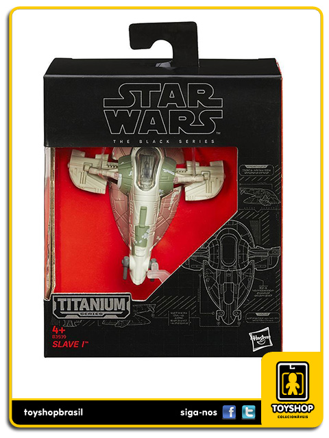 Star Wars The Black Series Titanium: Slave I - Hasbro