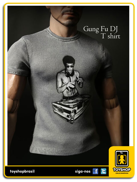 Camiseta Kung Fu DJ: Tony Stark 1/6 - Magic Cube Toys
