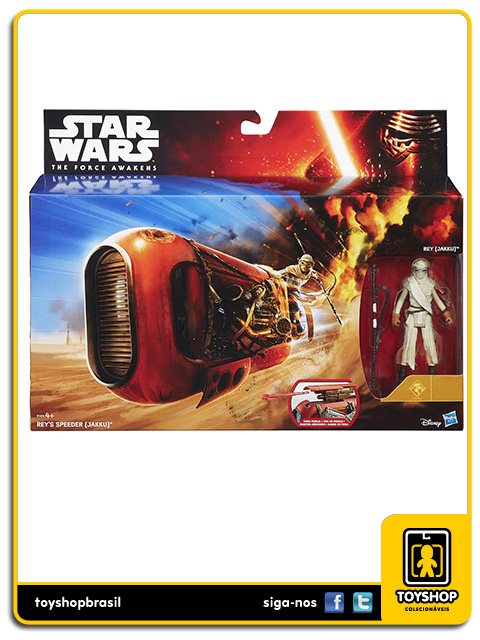 Star Wars The Force Awakens: Rey´s Spdeeder - Hasbro