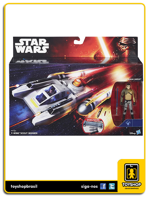 Star Wars The Force Awakens: Y-Wing Scout Bomber - Hasbro
