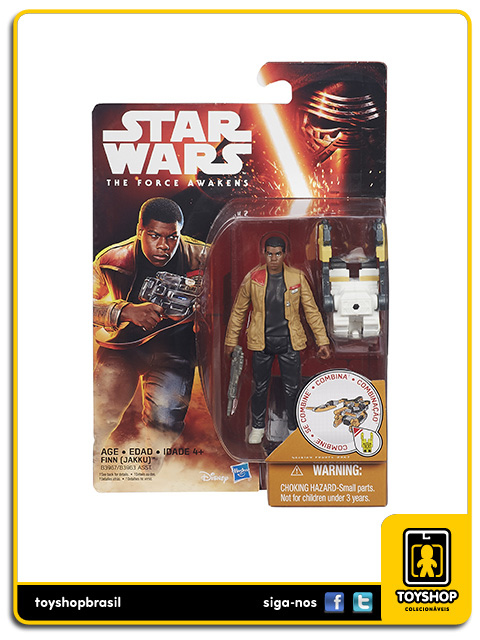 Star Wars The Force Awakens: Finn Jakku - Hasbro