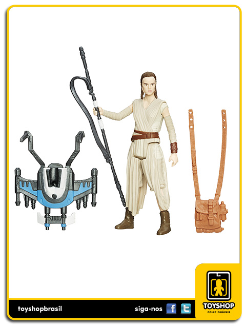 Star Wars The Force Awakens: Rey Starkiller Base - Hasbro
