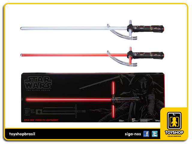 Star Wars The Black Series: Kylo Ren Force FX Deluxe Lightsaber - Hasbro