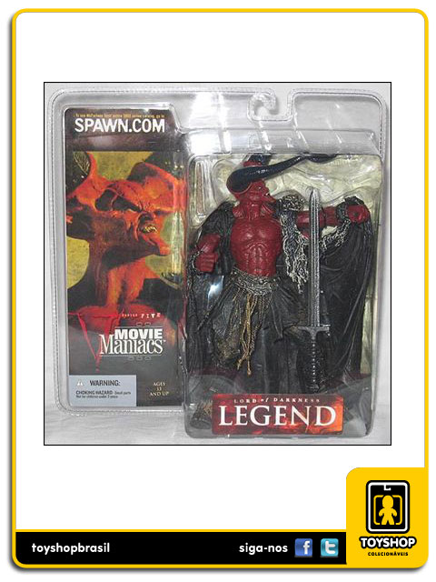 Movie Maniacs V: Lord of Darkness Legend - Mcfarlane