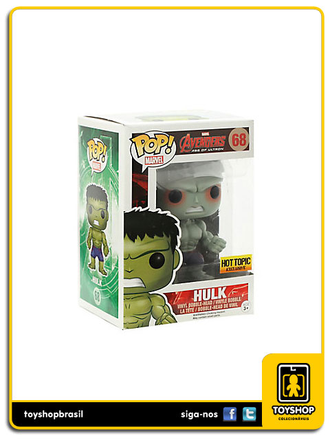 Avengers Age of Ultron: Hulk Hot Topic Exclusive  Pop - Funko