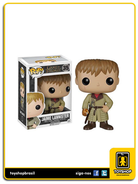 Game Of Thrones: Jaime Lannister Hot Topic Exclusive Pop - Funko