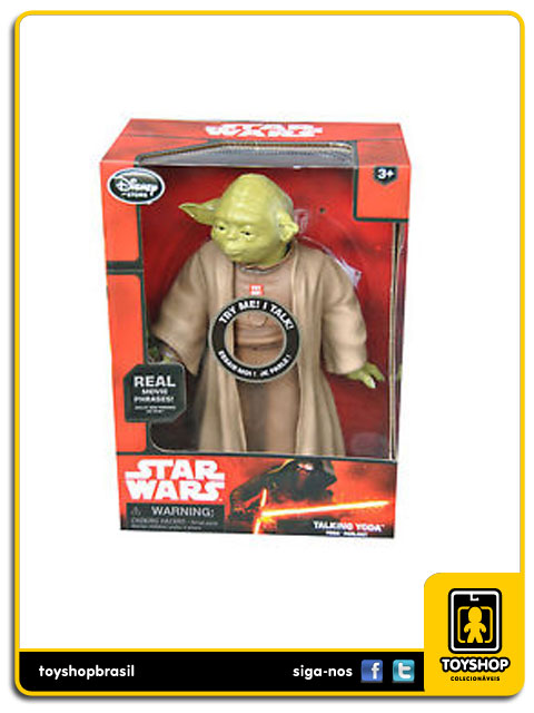 Star Wars:  Talking Yoda - Disney Store