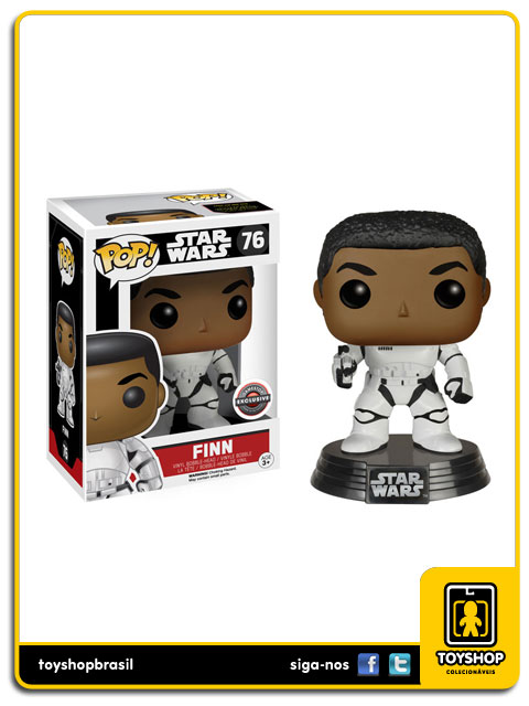 Star Wars The Force Awakens: Finn Gamestop Exclusive Pop - Funko