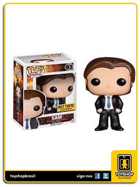 Supernatural: Sam Hot Topic  Exclusive Pop - Funko