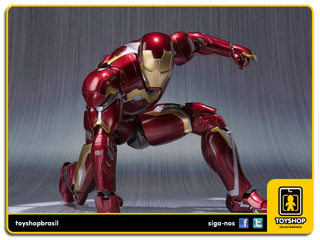 Avengers Age of Ultron S.H. Figuarts: Iron Man Mark XLV - Bandai