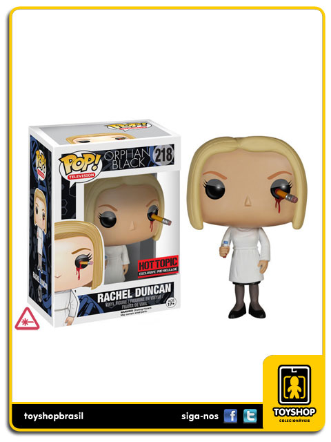 Orphan Black: Rachel Duncan  Hot Topic Exclusive Pop - Funko