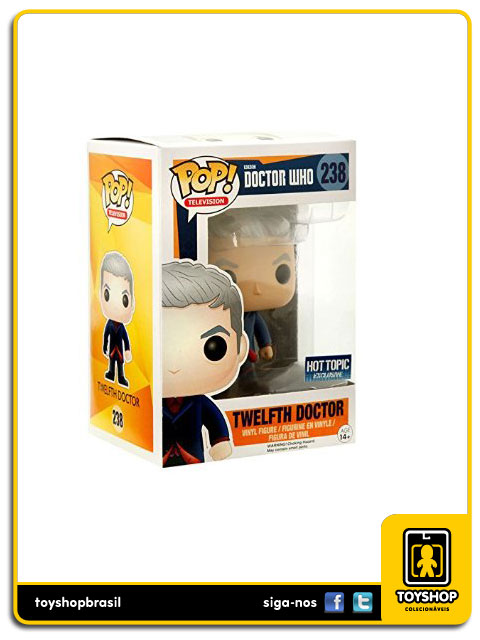 Doctor Who: Twelfth Doctor Hot Topic Exclusive  Pop - Funko