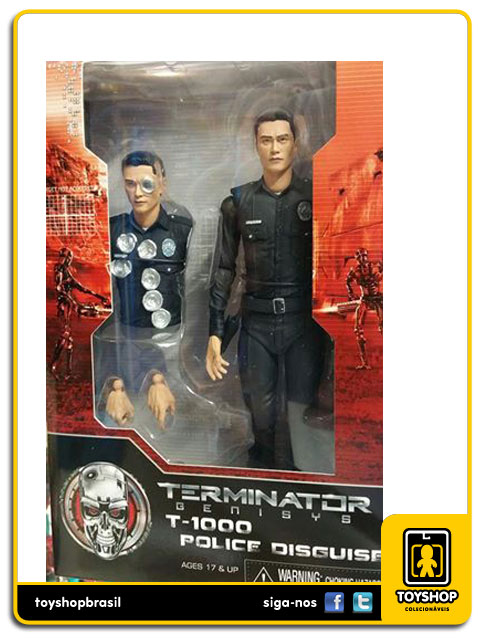 Terminator Genisys: T-1000 Police Disguise  - Neca