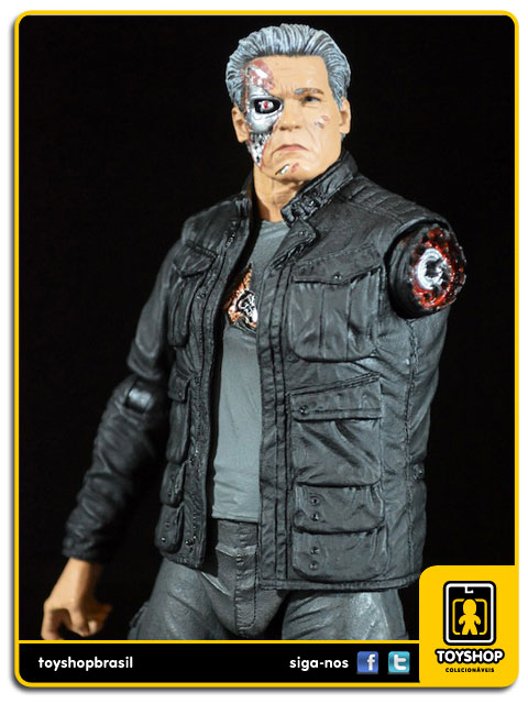 Terminator Genisys: T-800 Guardian Battle Damaged - Neca