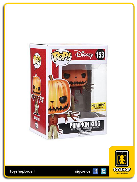 Nightmare Before Christmas: Pumpkin King Hot Topic Exclusive  Pop - Funko