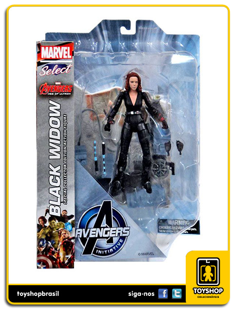 Marvel Select Avengers Age of Ultron: Black Widow - Diamond