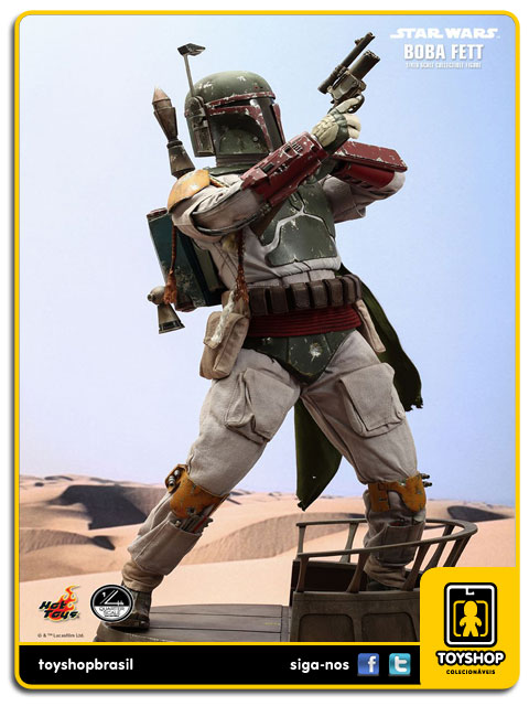 Star Wars: Boba Fett 1/4 - Hot Toys