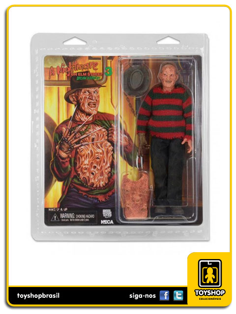 A Nightmare on Elm Street Part 3: Freddy Krueger 8´ Retro - Neca
