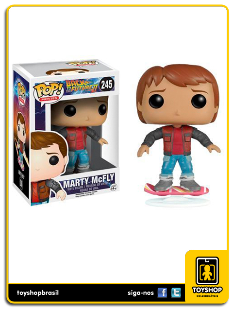Back to the Future II: Marty McFly Exclusivo Pop - Funko