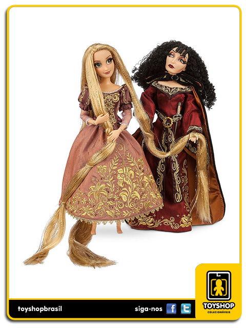Disney Fairytale Design Collection: Rapunzel And Mother Gothel - Disney