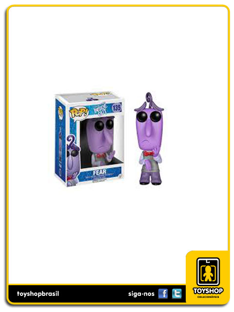 Disney Inside Out: Fear  Pop - Funko