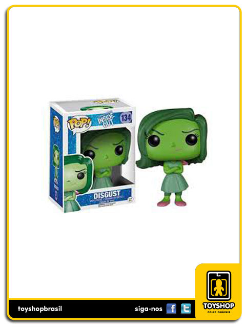 Disney Inside Out: Disgust Pop - Funko