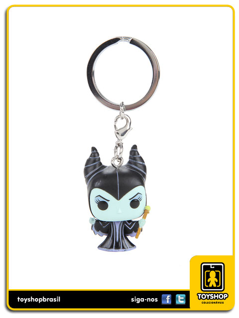 Disney Pocket Pop: Maleficent Key Chain - Funko