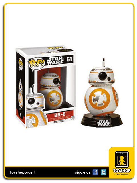 Star Wars The Force Awakens: BB-8  Pop - Funko